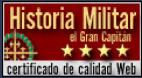 Sitio web galardonado con el certificado de calidad plata por sus contenidos de Historia Militar